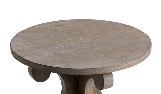Sonoma Light Tone Round End Table