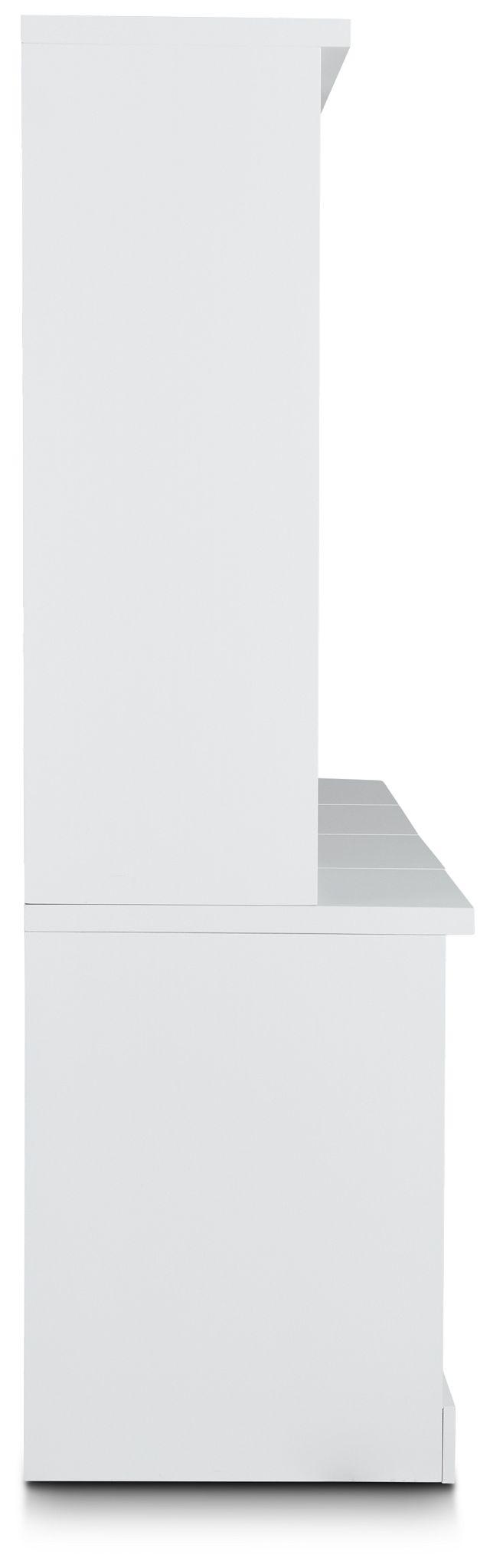 Newport White Door Bookcase Wall (3)