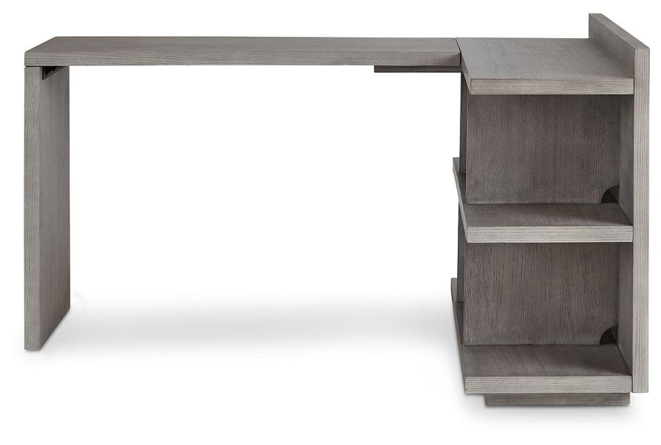 Rio Light Tone L Desk,  (1)