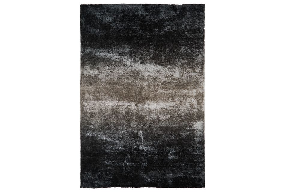 Ombre Gray 8x11 Area Rug