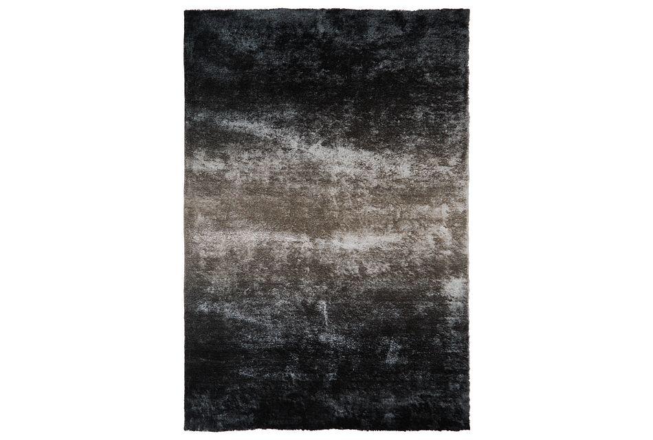 Ombre Gray 8x11 Area Rug
