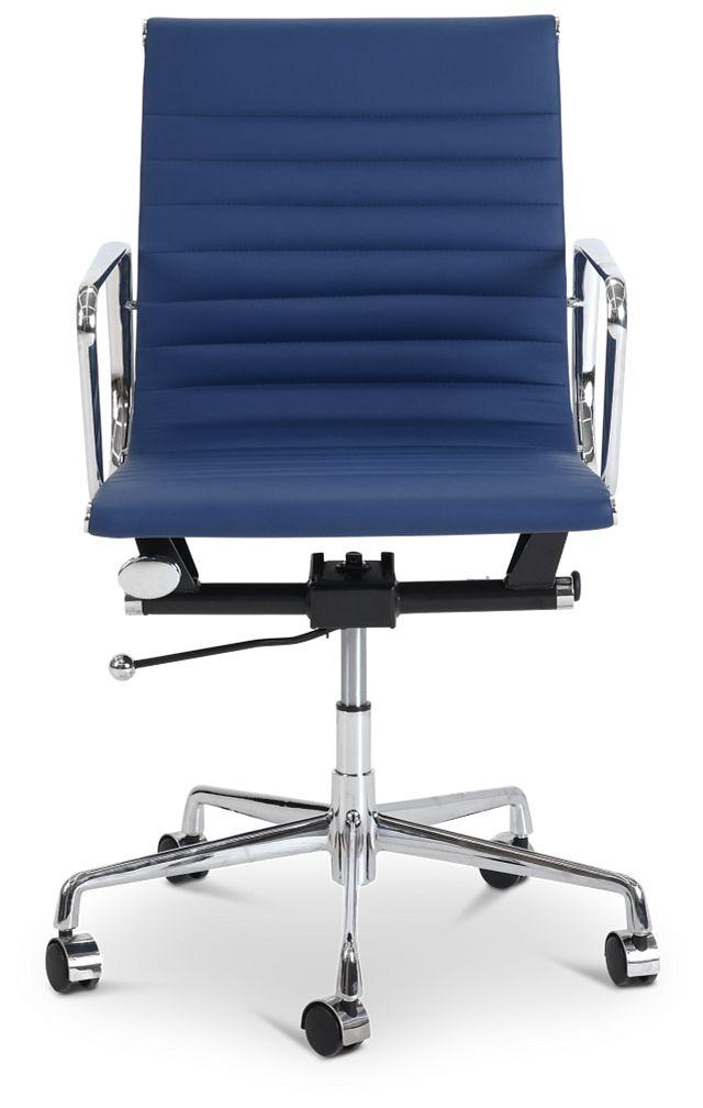 Mateo Dark Blue Desk Chair (3)