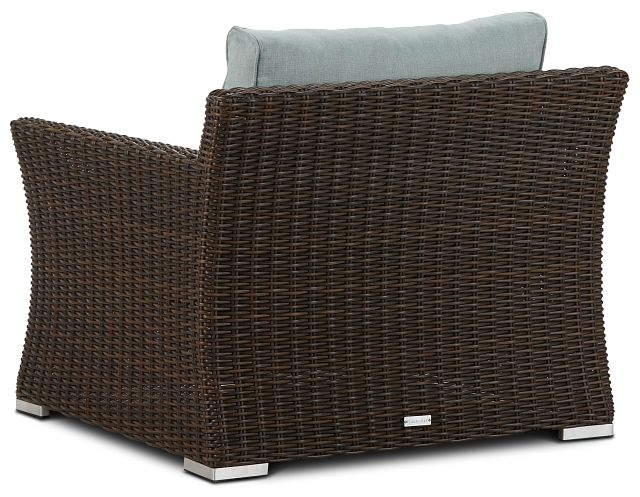 Southport Teal Woven Chair (3)