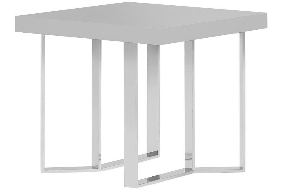 Axel Gray  End Table,