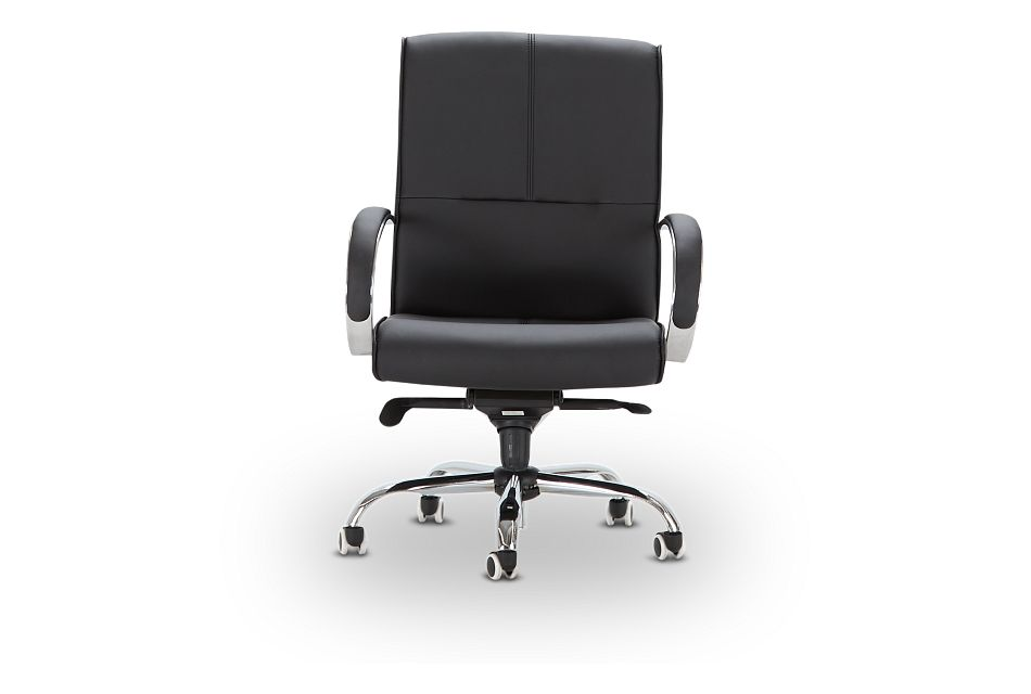 Greeley Black Uph Desk Chair, %%bed_Size%% (3)