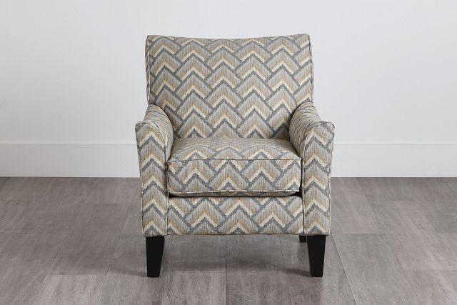 Maggie Dark Gray Multi Accent Chair (0)