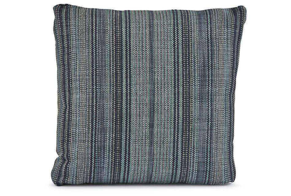 "Nominate Blue 18"" Square Accent Pillow"