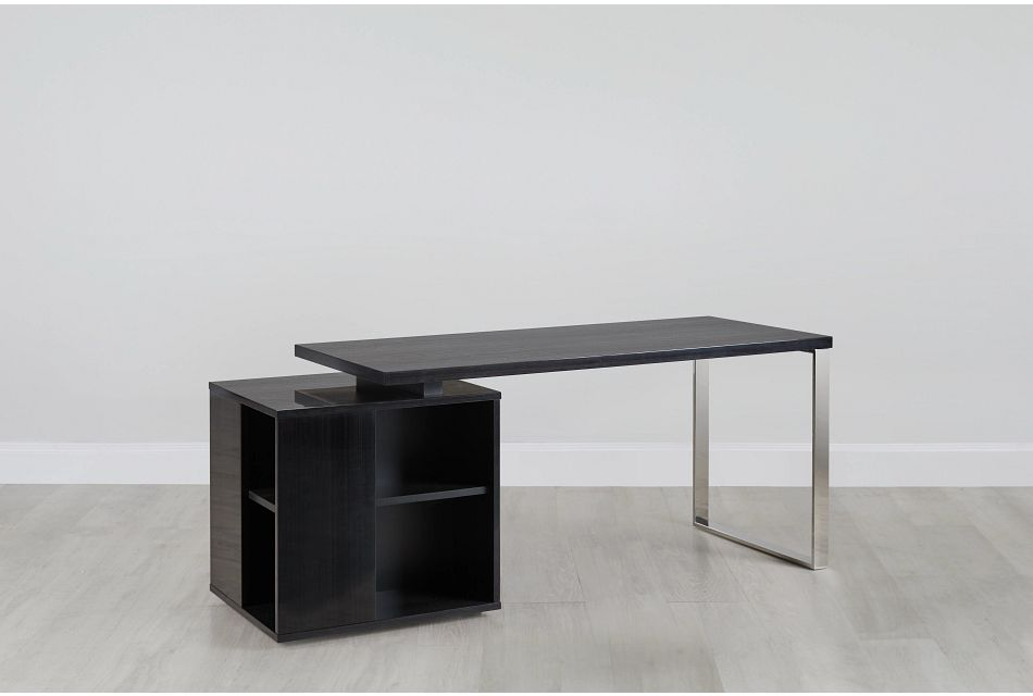Vancouver Dark Tone Storage Desk