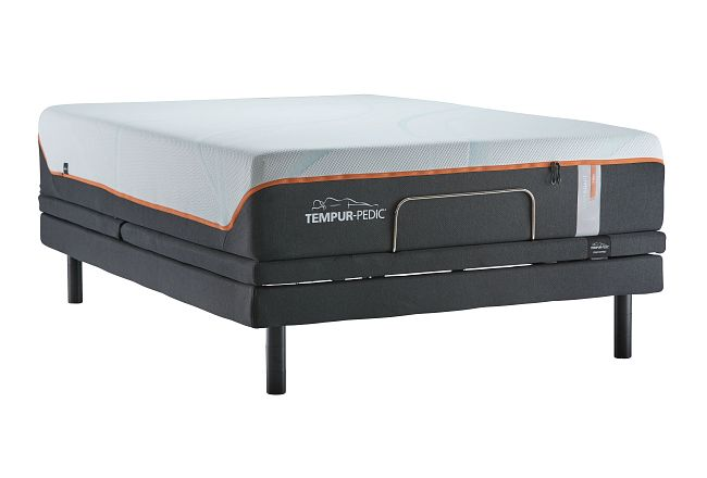 Tempur-luxe Adapt Firm Ergo Extnd Sleeptracker Adjustable Mattress Set