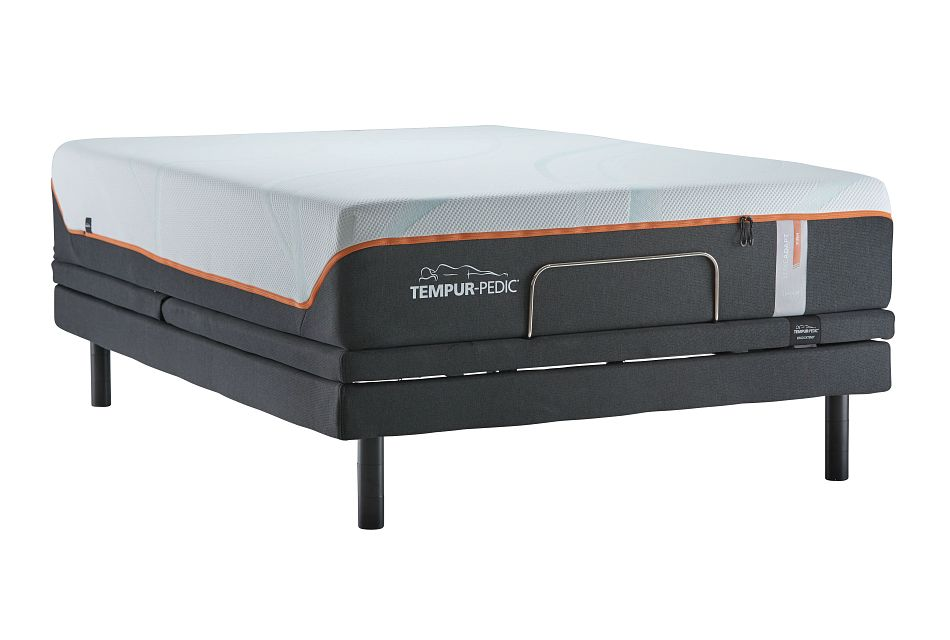 Tempur-luxe Adapt Firm Ergo Extnd Sleeptracker Adjustable Mattress Set