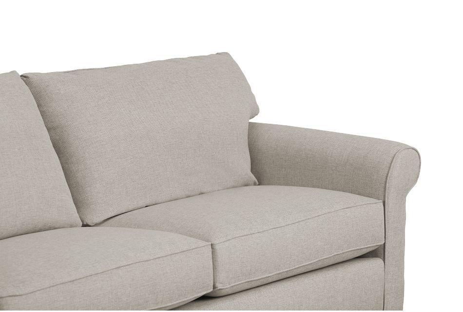 Cameron Beige Fabric Sofa