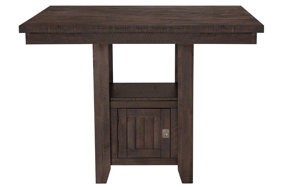 Kona Grove Dark Tone  High Dining Table,  (2)