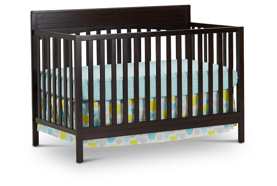 Parker Dark Tone 4-In-1 Crib, %%bed_Size%% (1)
