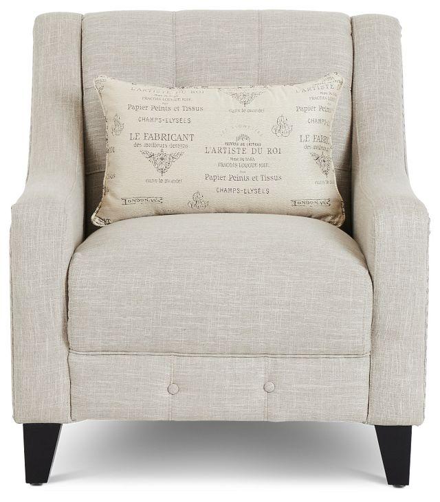 Hutton3 Light Taupe Linen Chair (2)