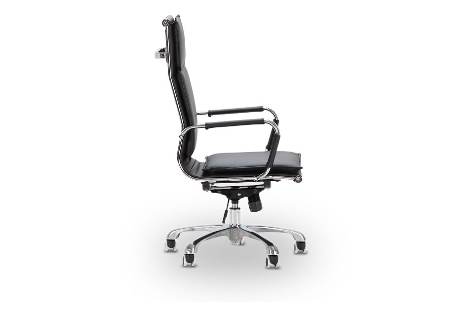 Arvada Black Uph Desk Chair, %%bed_Size%% (2)