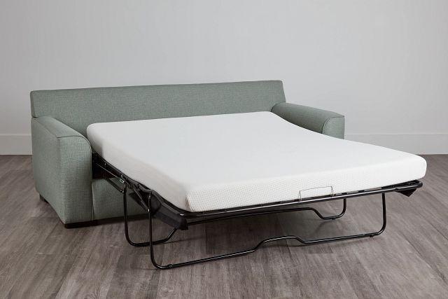 Austin Green Fabric Memory Foam Sleeper (0)