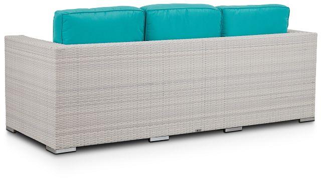 Biscayne Dark Teal Sofa (3)