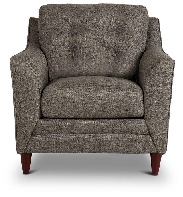 Jensen Dark Gray Fabric Chair (3)