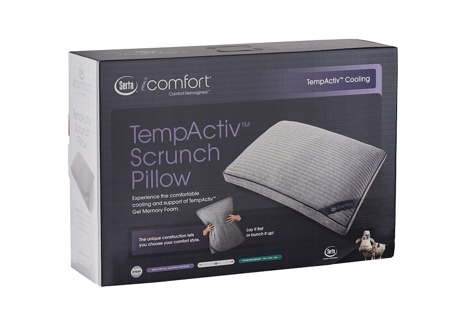 Serta Icomfort Tempactiv Scrunch Gel  Pillow