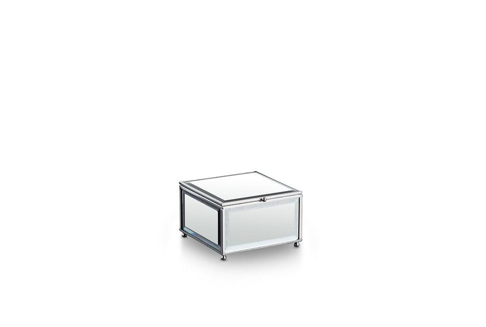 Hensly Gray Glass Box