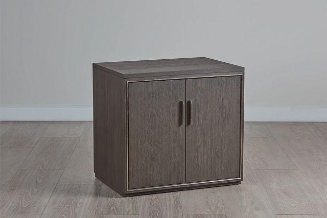 Highline Dark Tone Door Cabinet (0)