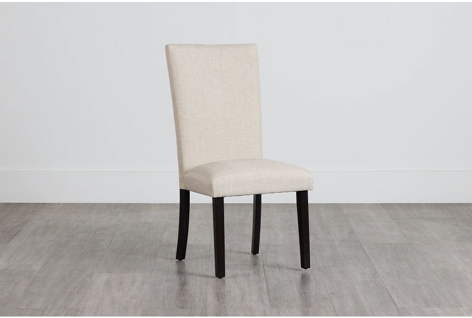Paloma Beige Upholstered Side Chair,  (0)