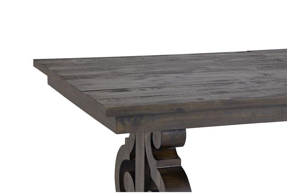 Sonoma Dark Tone Trestle Table