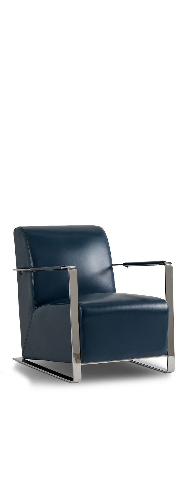 Lee Blue Uph Accent Chair (1)