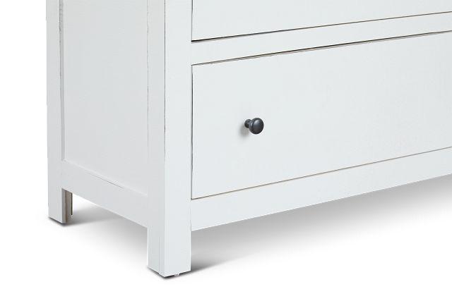 Elmhurst White Drawer Chest