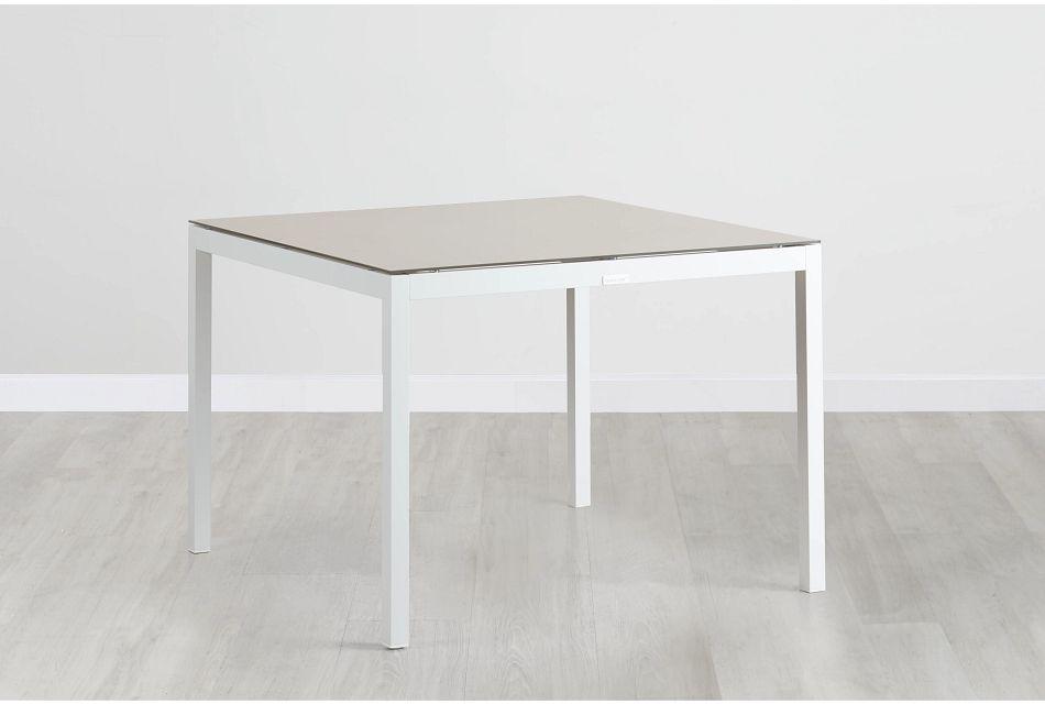 "Aventura Champagne 40"" Rectangular Table,  (0)"
