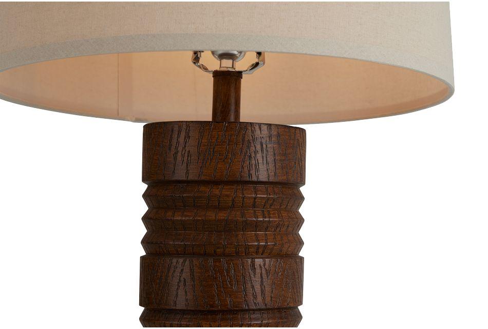 Gina Brown Polyresin Table Lamp,  (3)