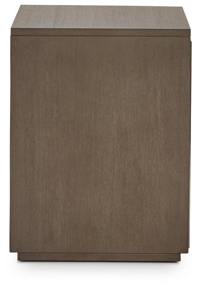 Highline Gray Open Cabinet (3)