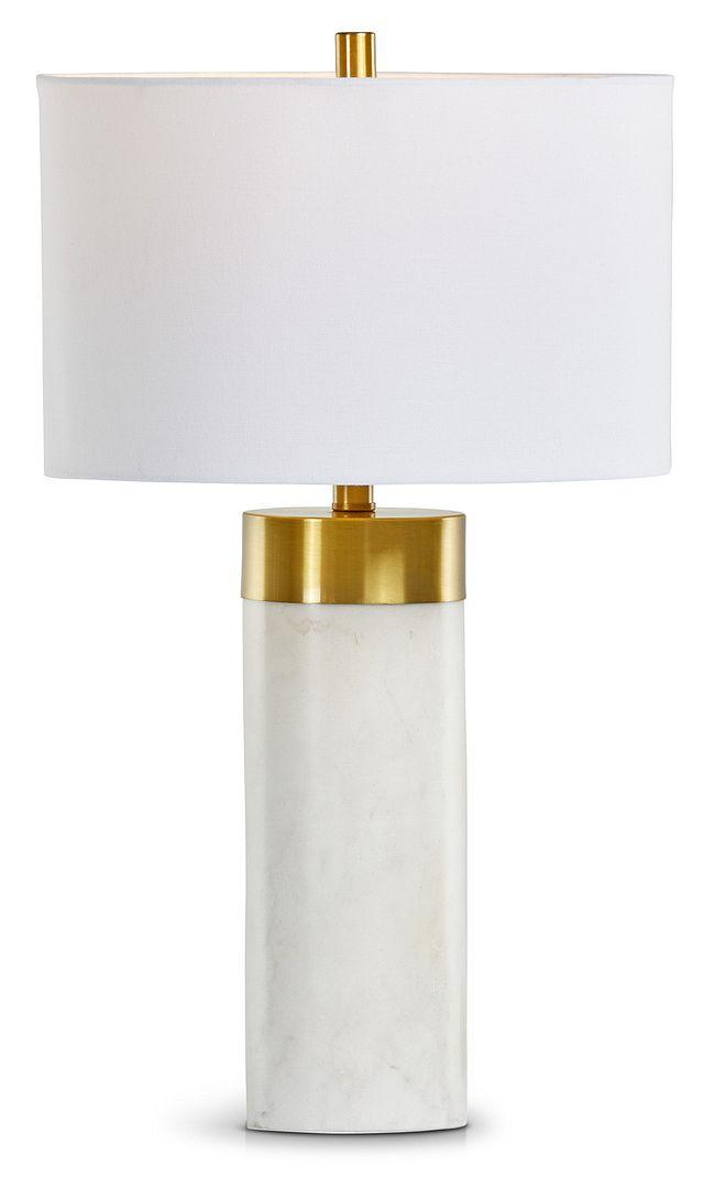 Jocelyn White Table Lamp (2)