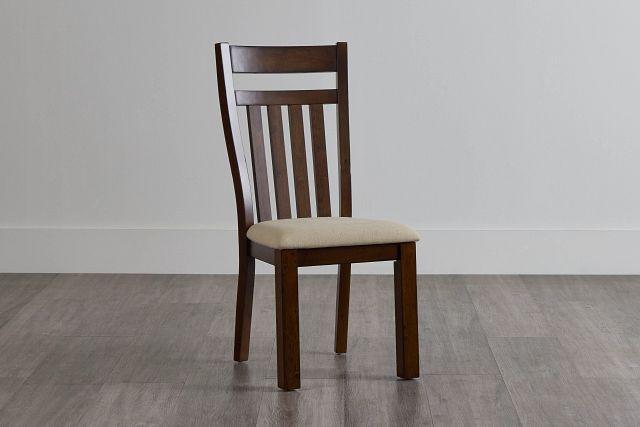 Napa Dark Tone Wood Side Chair (0)