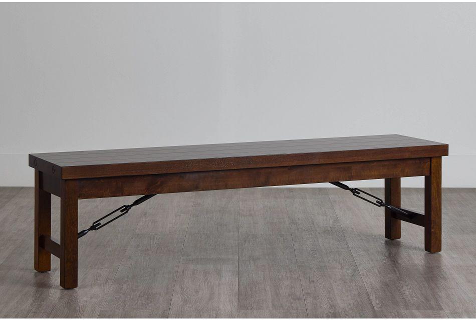 Napa Dark Tone Storage Dining Bench,  (0)