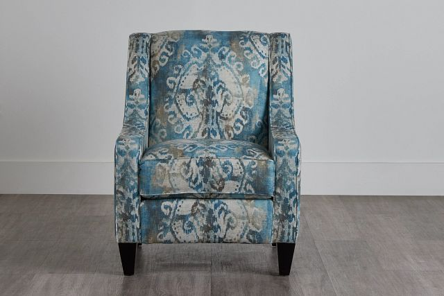 Soledad Blue Fabric Accent Chair (0)