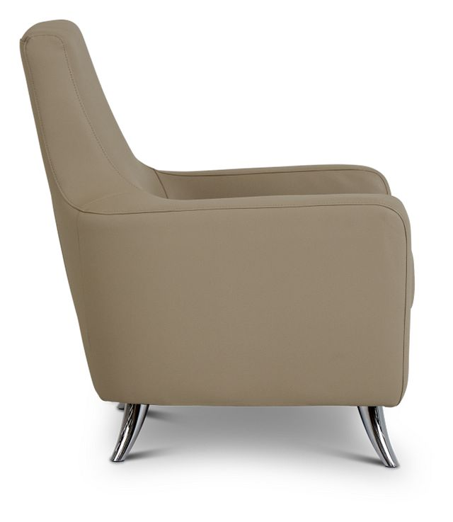 Marquez Taupe Micro Accent Chair (2)