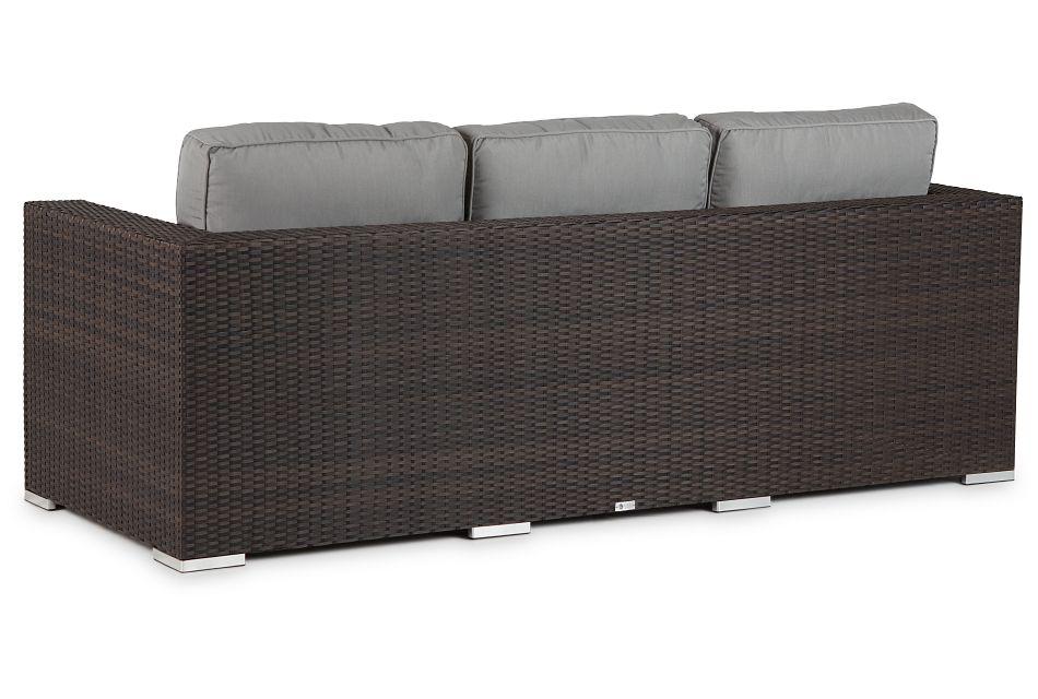 Fina Gray Sofa,  (2)