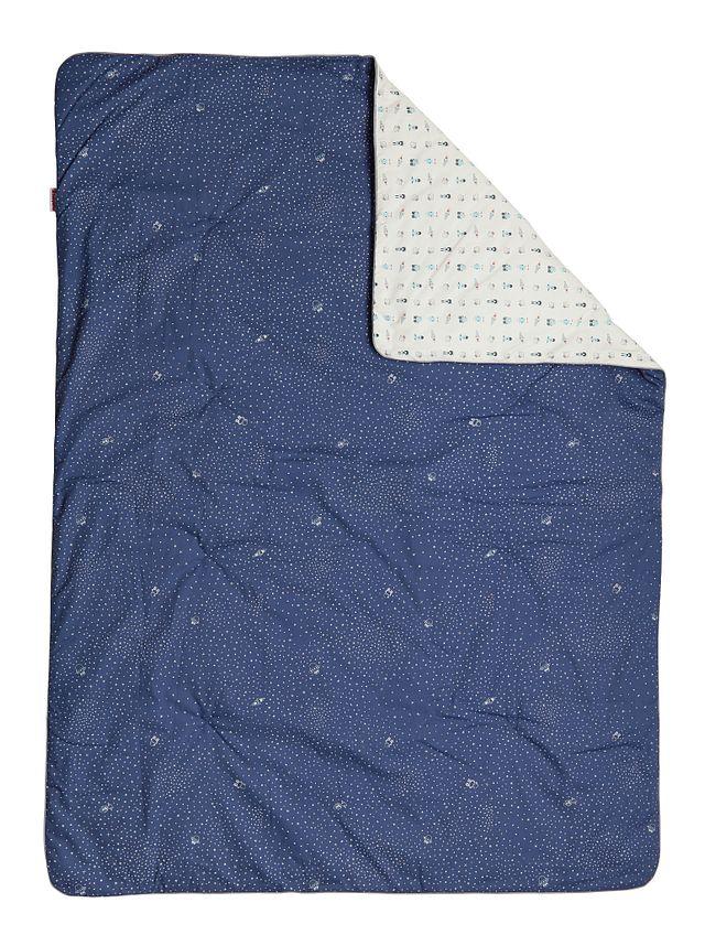Galaxy Dark Blue 5 Piece Crib Bedding Set (1)