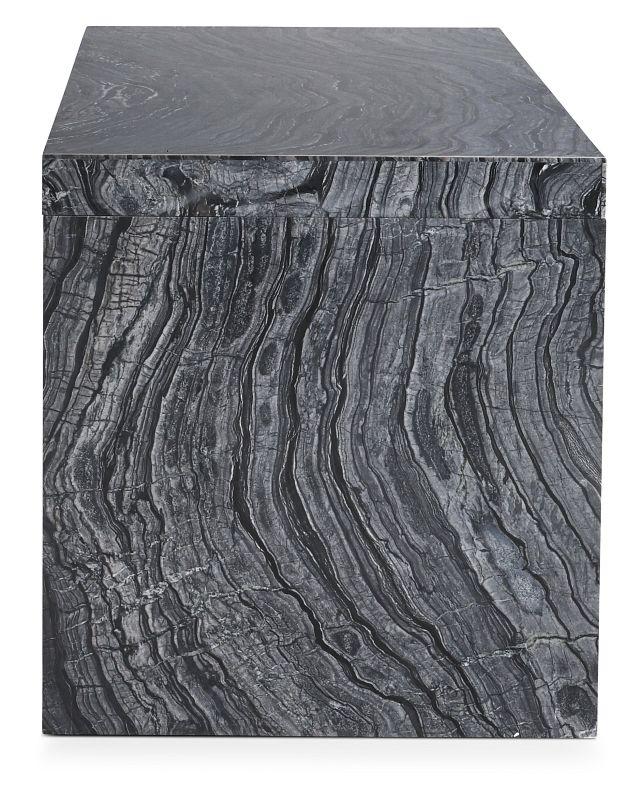 Linea Black Marble Desk (3)