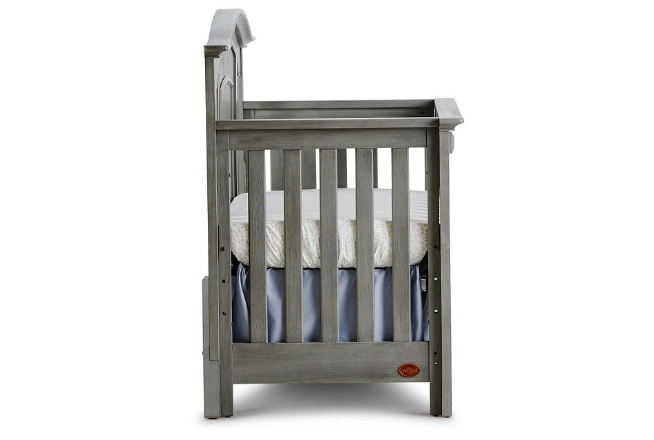 Willowbrook2 Gray 4-in-1 Crib,  (2)