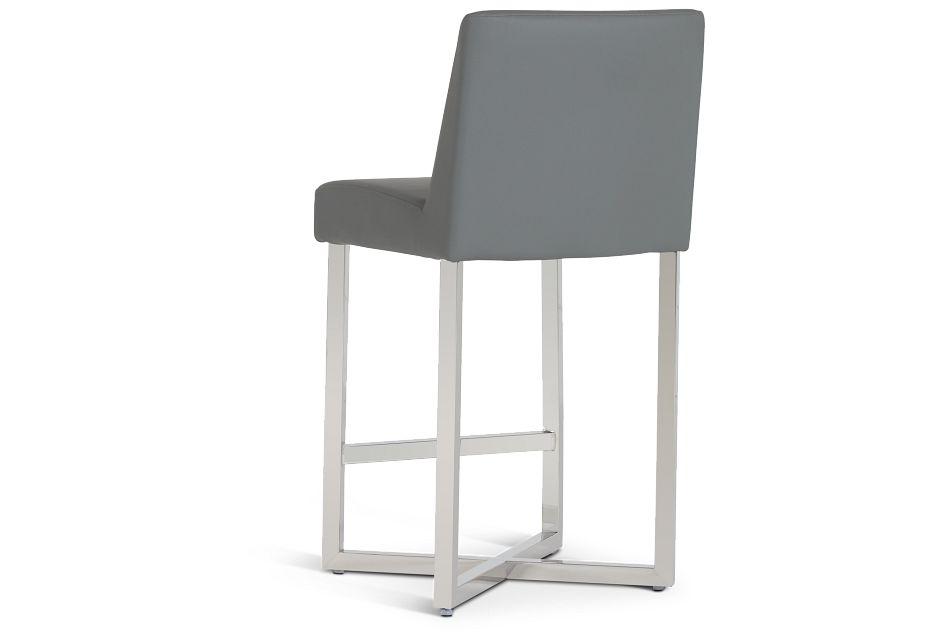 """Howard Gray 24"""" Upholstered Barstool,  (3)"""