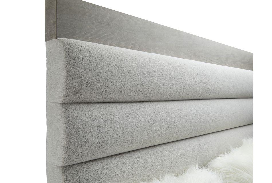 Linea Light Tone Uph Platform Bed