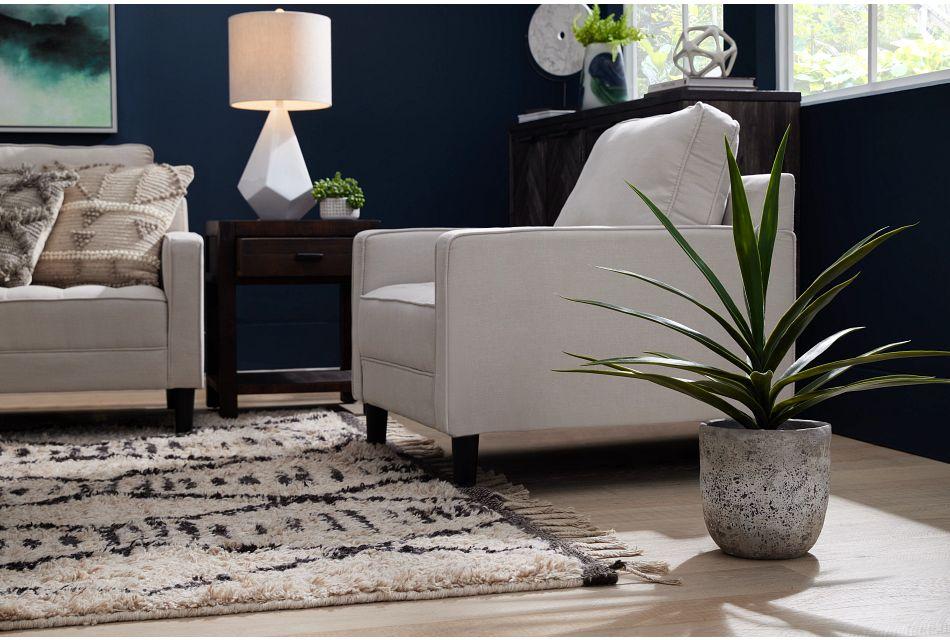 Eli Taupe Micro Chair,  (2)