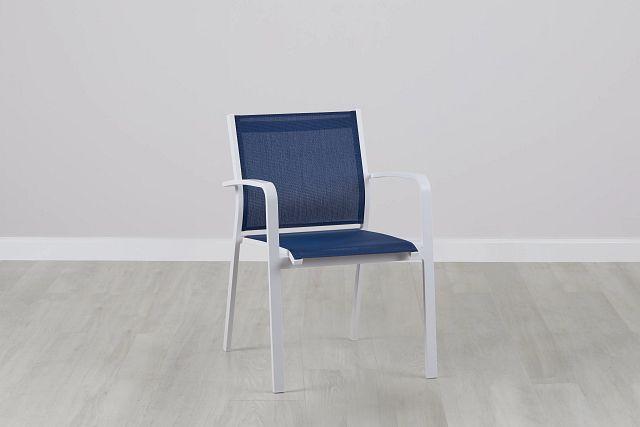 Lisbon Navy Sling Chair (0)