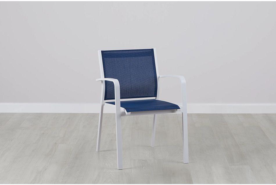 Lisbon Navy Sling Chair