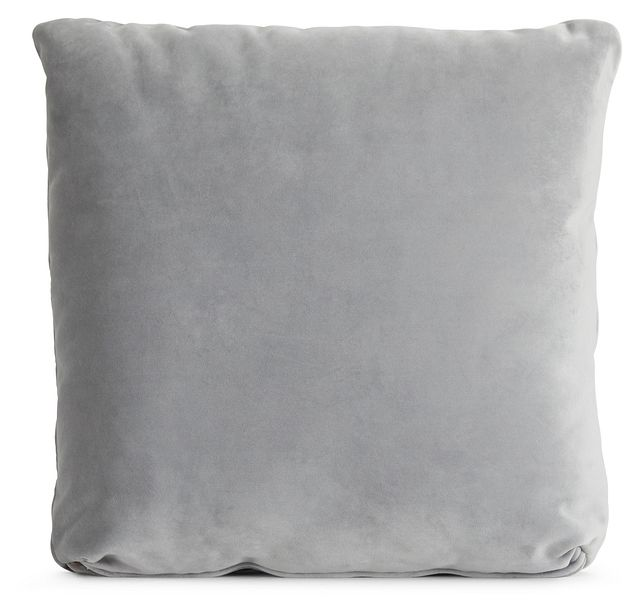 """Royale Gray 18"""" Square Accent Pillow (0)"""