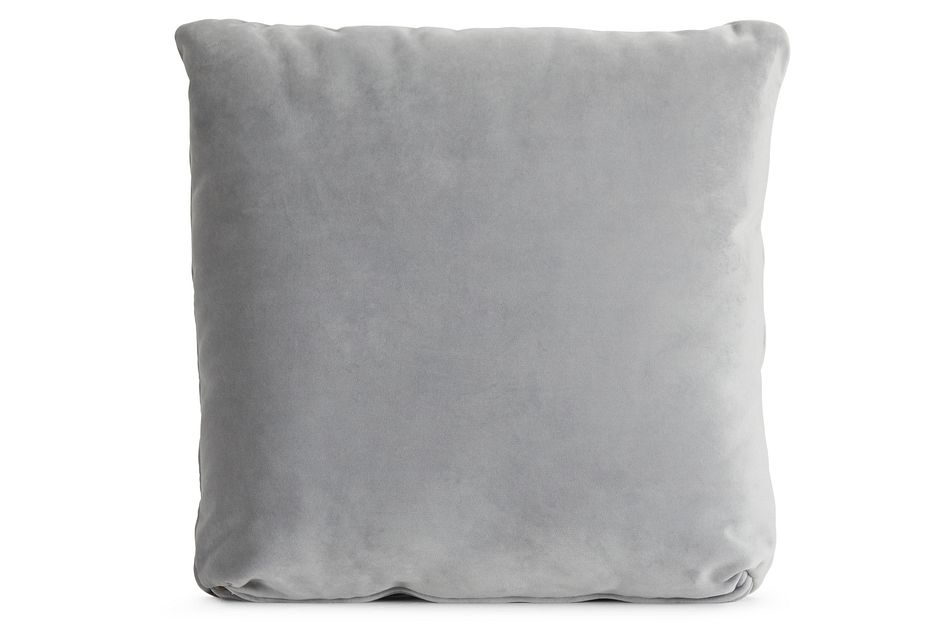 """Royale Gray 18"""" Square Accent Pillow"""