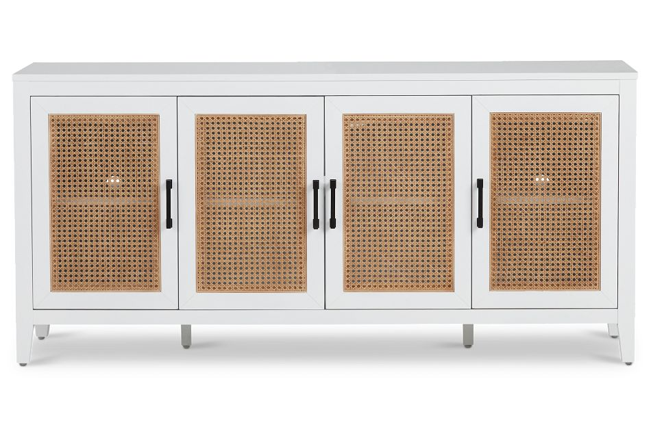 Nantucket Two-Tone Woven Tv Stand,  (1)