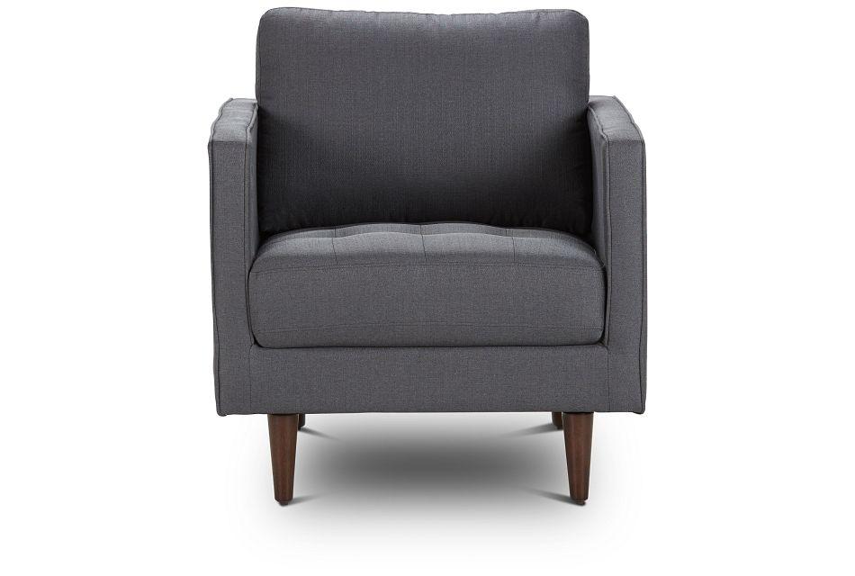 Rue Gray Fabric Chair,  (3)